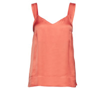 Iw50 14 Suki Top Bluse Ärmellos Orange INWEAR