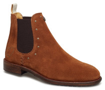 Mollyhood Low Suede Boot Stiefeletten Chelsea Boot Braun ODD MOLLY
