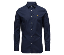 Slim Fit Popeline-Hemd Hemd Business Blau LYLE & SCOTT