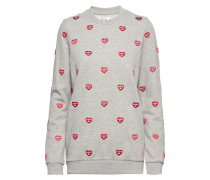 Embroidered Loose Fit Sweat