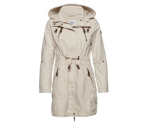 Coats Woven Parka Jacke Mantel Braun EDC BY ESPRIT