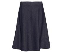 Skirt, Circle Skirt Silhouette, 2-N Knielanges Kleid Blau