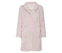 Pam Faux Fur Coat Kunstpelz Pelzimitat Pink BY MALINA