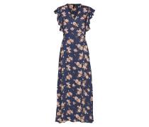 malla Ankle Dress Maxikleid Partykleid Blau