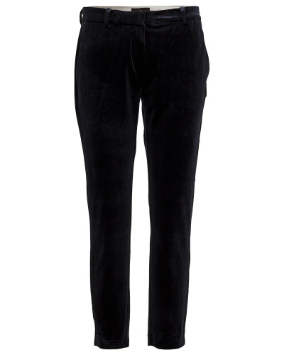 Kylie 730 Crop, Navy Velvet, Pants