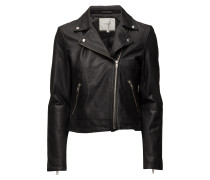 Slfmarlen Leather Jacket Noos
