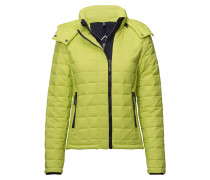 Hooded Box Quilt Fuji Jacket