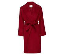 G1. Wool Wrap Coat Wollmantel Mantel Rot