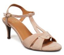 Sandals 8151 Sandale Mit Absatz Beige