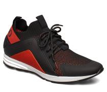 Hybrid_runn_knbc Niedrige Sneaker Schwarz HUGO