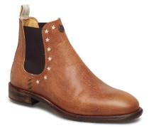 Mollyhood Low Leather Boot Stiefeletten Chelsea Boot Braun ODD MOLLY