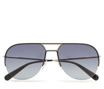 Mj 624/S Pilotensonnenbrille Sonnenbrille Schwarz