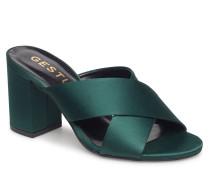 Soffy Sa Mules Ao18 Sandale Mit Absatz Grün GESTUZ