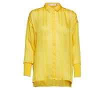 Hollis Blouse Bluse Langärmlig Gelb INWEAR