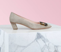 Pumps Belle Vivier Turtle Buckle