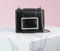 Très Vivier Duo Strass Buckle