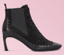 Ankle Boots Trompette Perfo Graphic