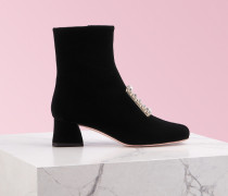 Ankle Boots Très Vivier Strass