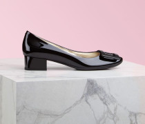 Pumps Belle de Nuit aus Lackleder