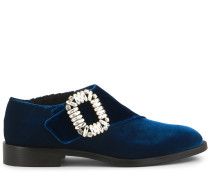 Loafers Monk Strass Buckle