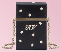 RV Stars Rivets Leather Cigarette Case