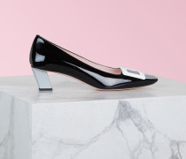 Pumps Belle Vivier aus Lackleder