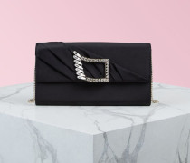 Vivier Eye Buckle Envelope Flap