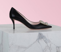 Pumps Flower Strass Buckle
