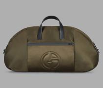 Reisetasche mit Plastischem Logo und Abnehmbarem