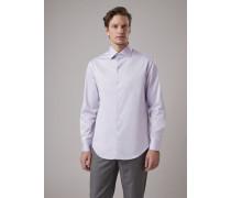 Hemd in Regular Fit aus Baumwolltwill