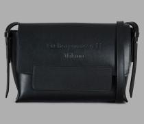 Umhängetasche aus Leder mit Farblich Abgestimmter