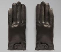 Handschuhe aus Perforiertem Nappaleder mit Futter