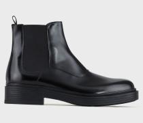 Beatles-Boots aus Antik-Leder