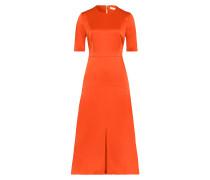 Midi Kleid in A Linien Form Grenadine