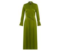 Knöchellanges Kleid mit Bindeschleife