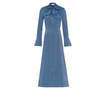 Midi Kleid mit Bindeschleife