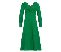 Midi Kleid mit Volants