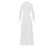 Maxi Kleid mit Rüschendetails