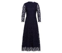 Midi Kleid aus grafischer Spitze