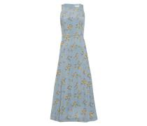 Midi Kleid mit floralem Print