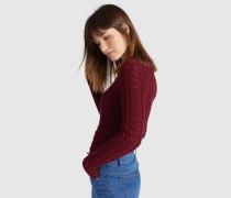 Pullover DAISY rot