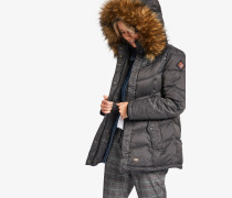 Jacke WINSEN3 WITH RIB COLLAR grau