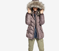 Jacke WINSEN3 WITH RIB COLLAR lila