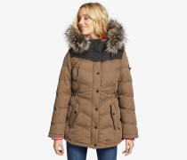 Jacke WINSEN3 WITH RIB COLLAR braun