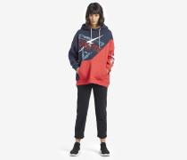 Sweatshirt CASSIDY VC1 NAVY/ MARS RED COMBO