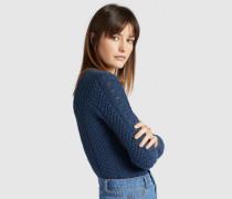 Pullover DAISY blau