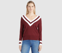 Pullover HEVAL rot