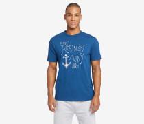 T-Shirt FINN ANCHOR blau