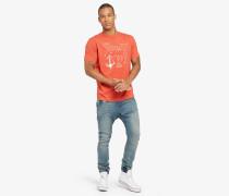 T-Shirt FINN ANCHOR orange