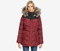 Jacke WINSEN3 WITH RIB COLLAR rot